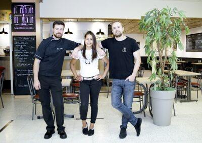 L'équipe du Camion du Vexin et du restaurant Veliokasse